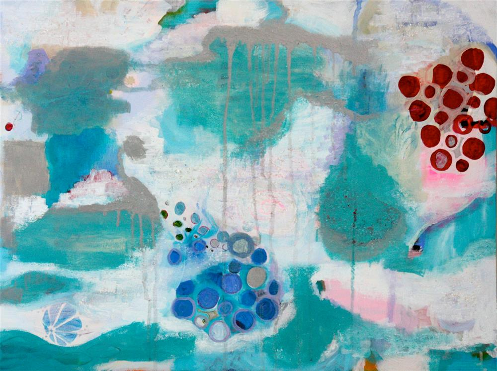 """Kimono Bubbles"" original fine art by Yuki Lodge"