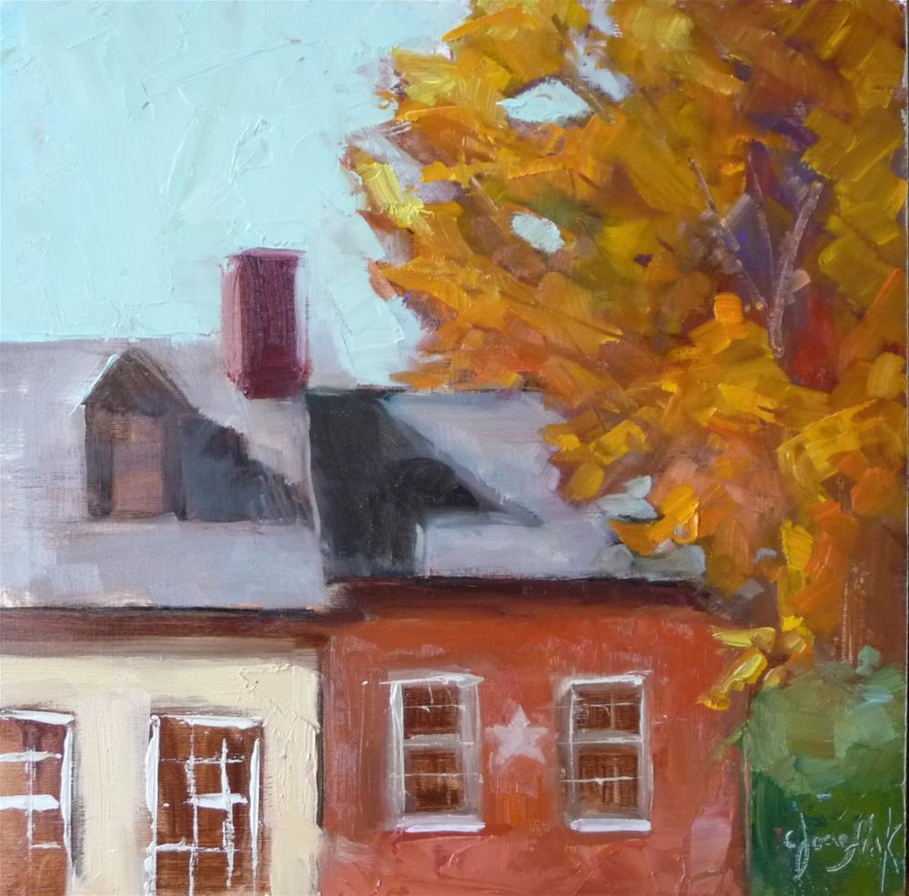 """GinkgoTree"" original fine art by Carol Josefiak"