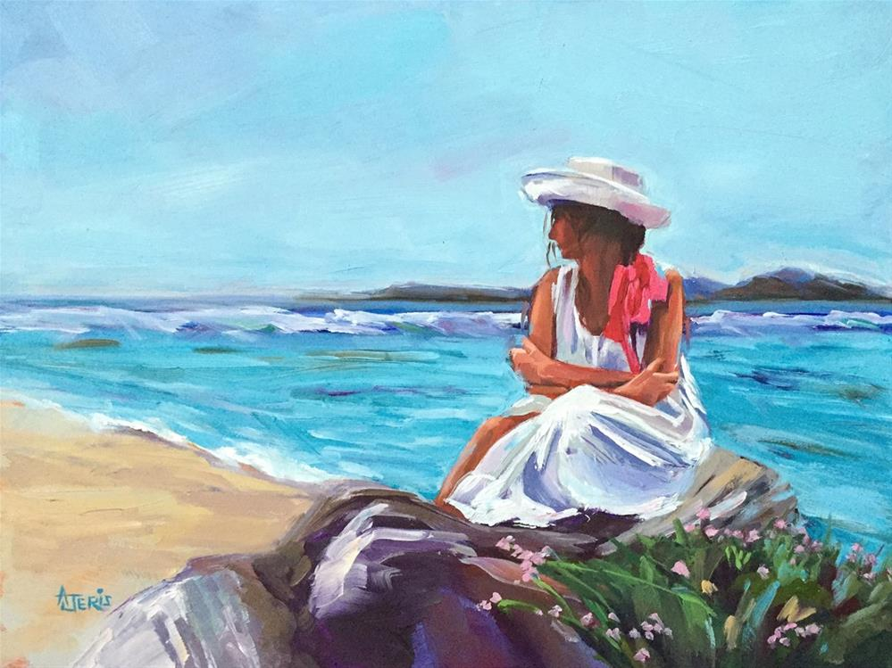 """Contemplation"" original fine art by Andrea Jeris"
