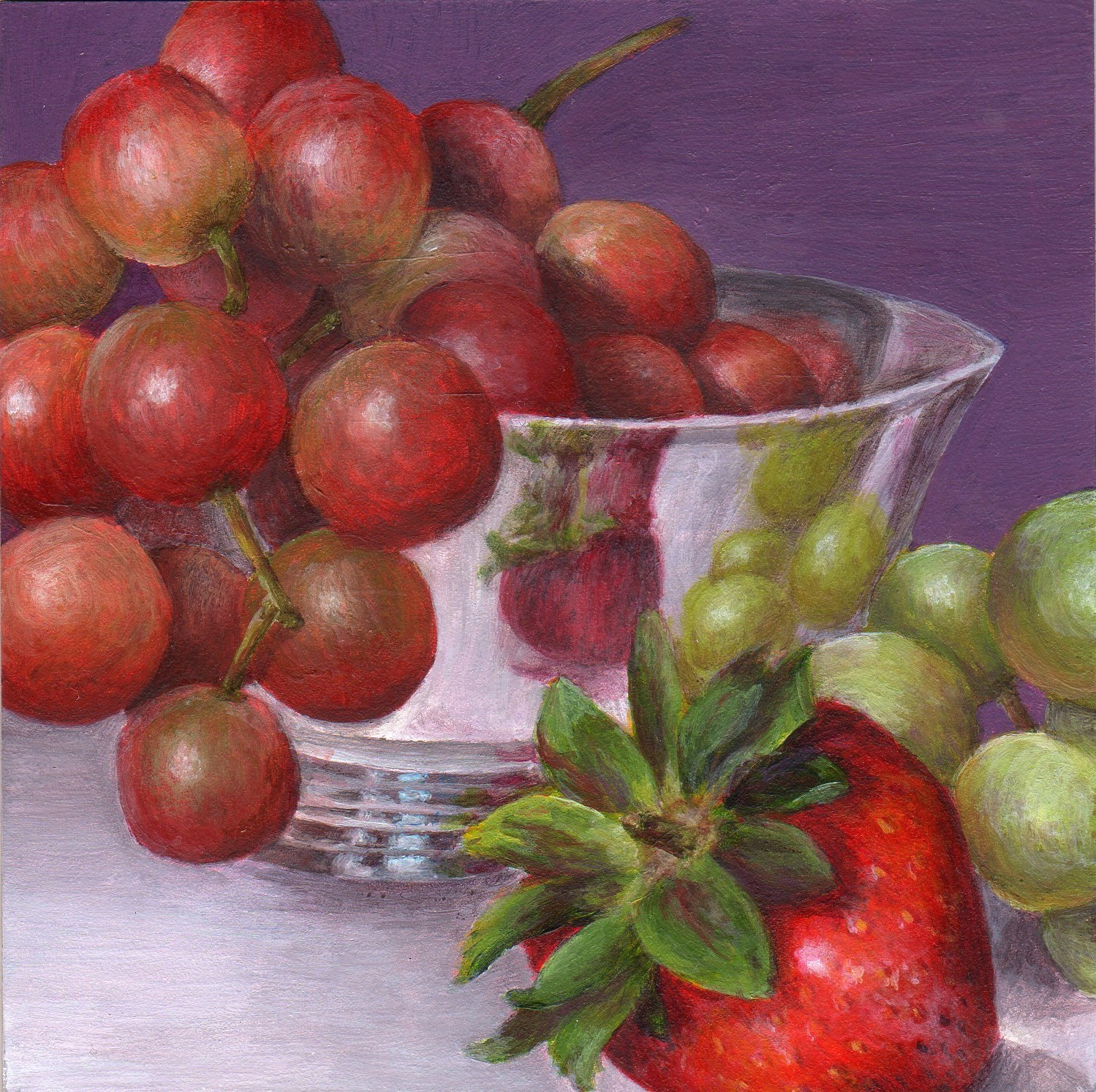 """Fruitful"" original fine art by Debbie Shirley"