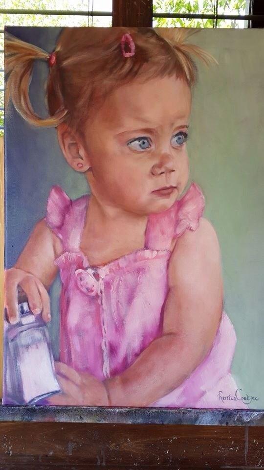 """Commission"" original fine art by Rentia Coetzee"
