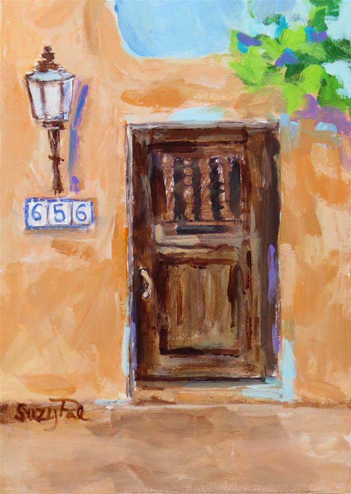 """Santa Fe #8"" original fine art by Suzy 'Pal' Powell"