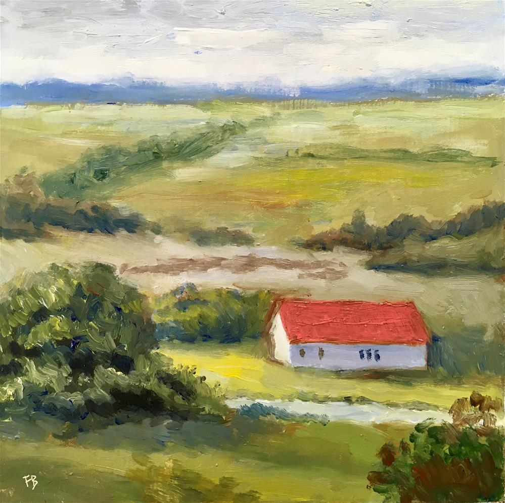"""232The Farm"" original fine art by Fred Bell"
