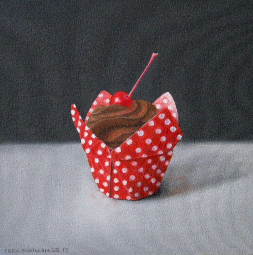 """Heavenly Chocolate I"" original fine art by Pera Schillings"
