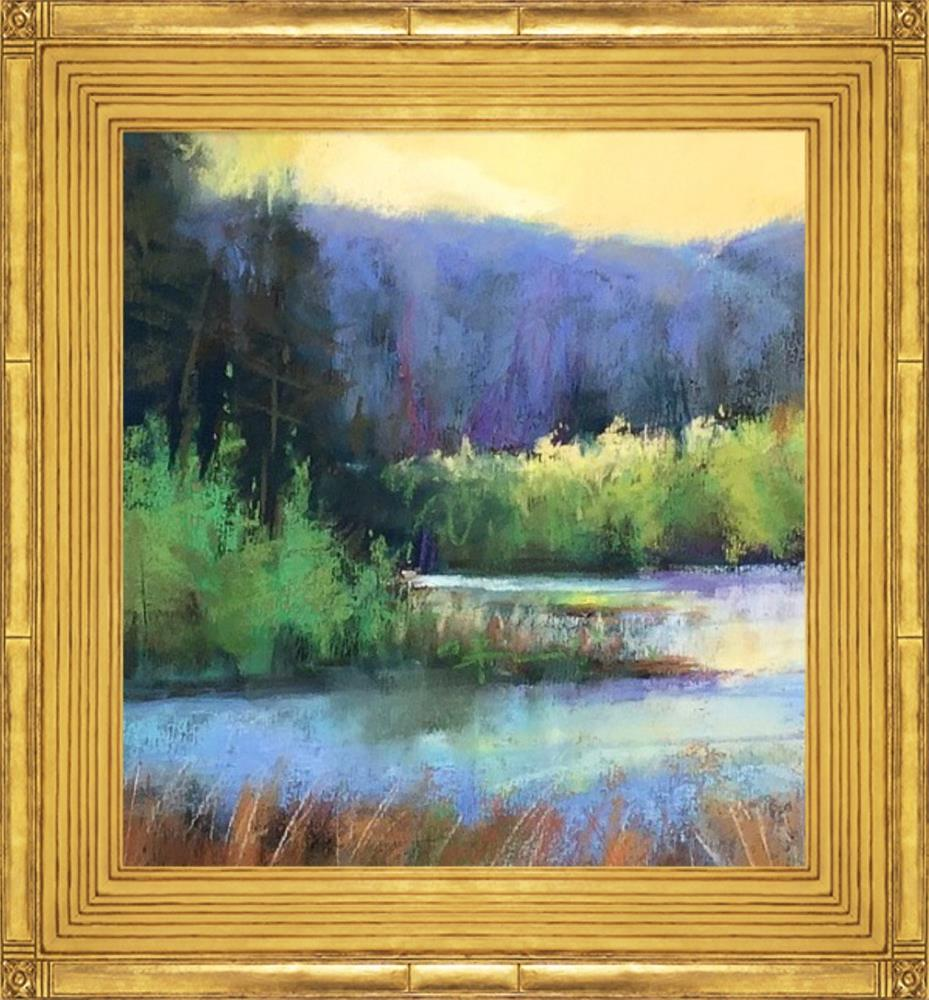 """Montana Sunshine"" original fine art by Leora LaGraffe"