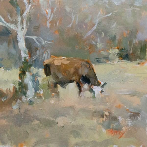 """Left Field"" original fine art by Randall Cogburn"