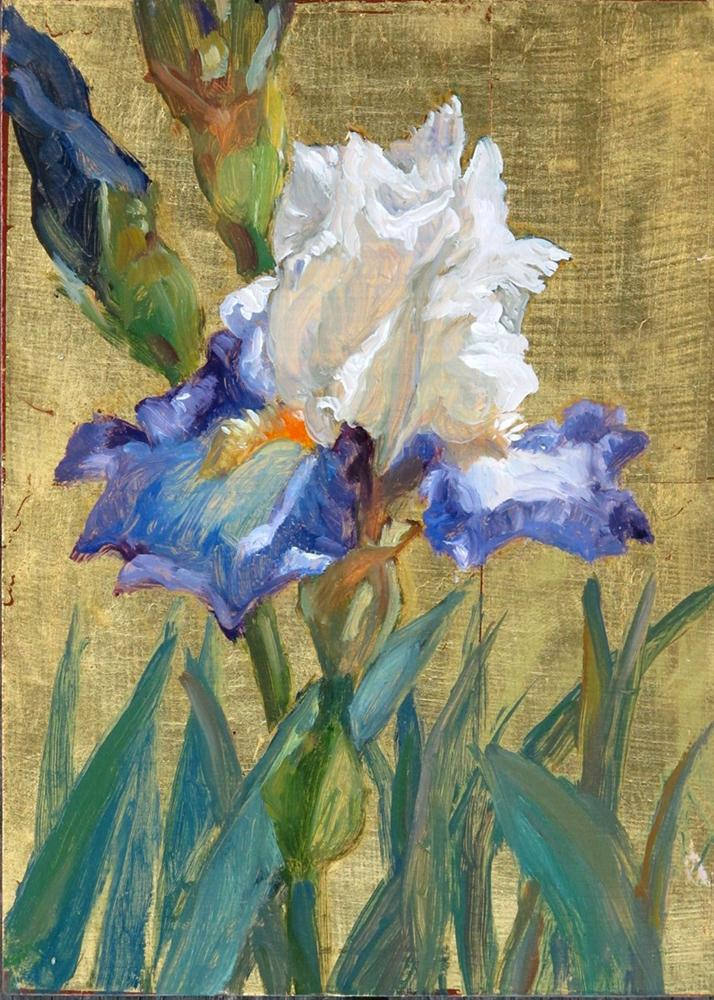 """Bagatelle Iris"" original fine art by Myriam Kin-Yee"