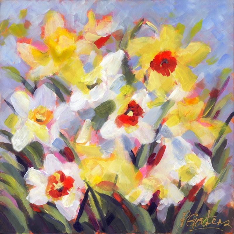 """New Dillys"" original fine art by Pamela Gatens"
