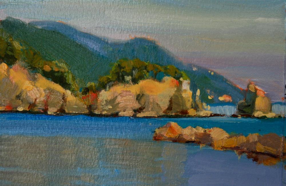 """Somewhere in Cinque Terre"" original fine art by Jane Robertson"