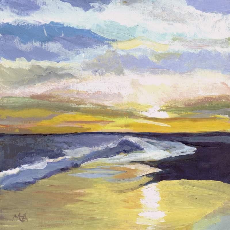 """Skylight"" original fine art by Meredith Adler"