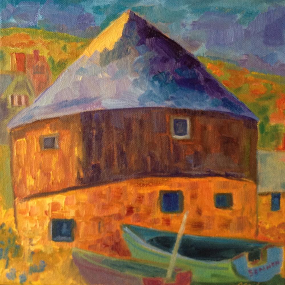 """Sennen Roundhouse"" original fine art by Ceci Lam"