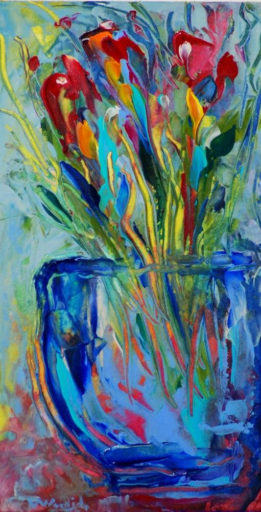 """Untitled"" original fine art by Vicki Wood"