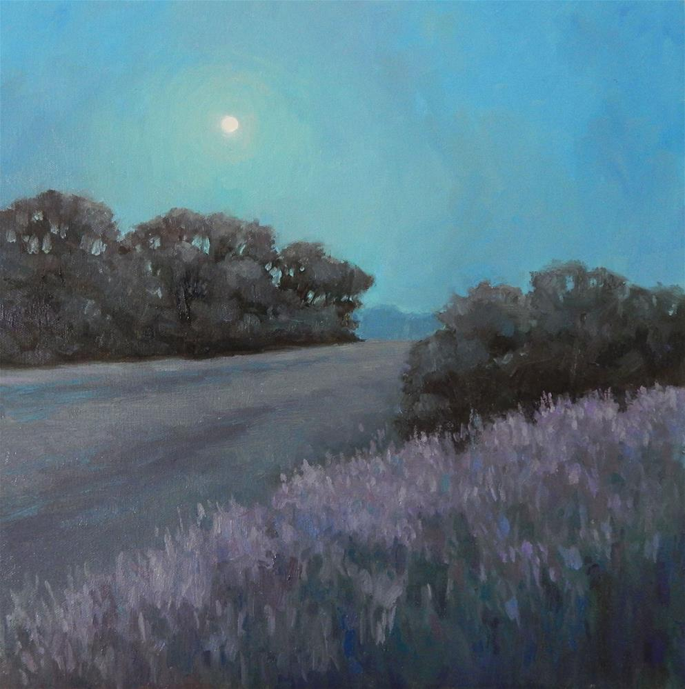 """The Moon, in all it's Splendor"" original fine art by Lisa Kyle"