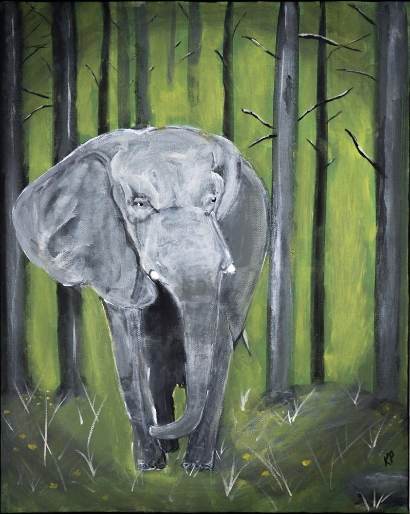 """Majestic"" original fine art by Kali Parsons"