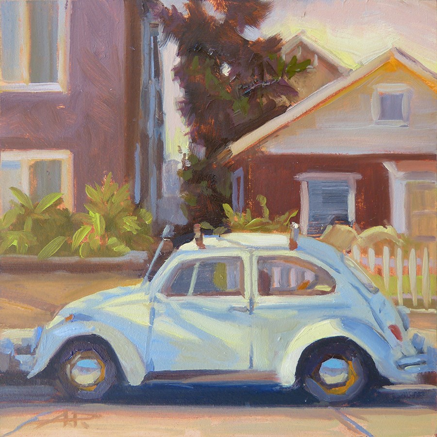 """30 in 30 - Cars and Dogs - Day 2"" original fine art by Anette Power"
