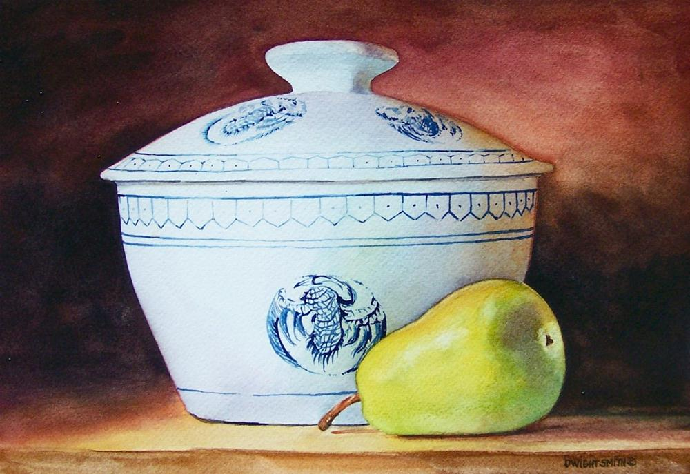 """ THE CHINA BOWL "" original fine art by Dwight Smith"