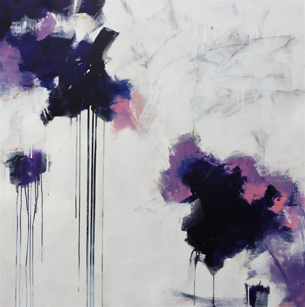 """Here and Now"" original fine art by Elizabeth Chapman"