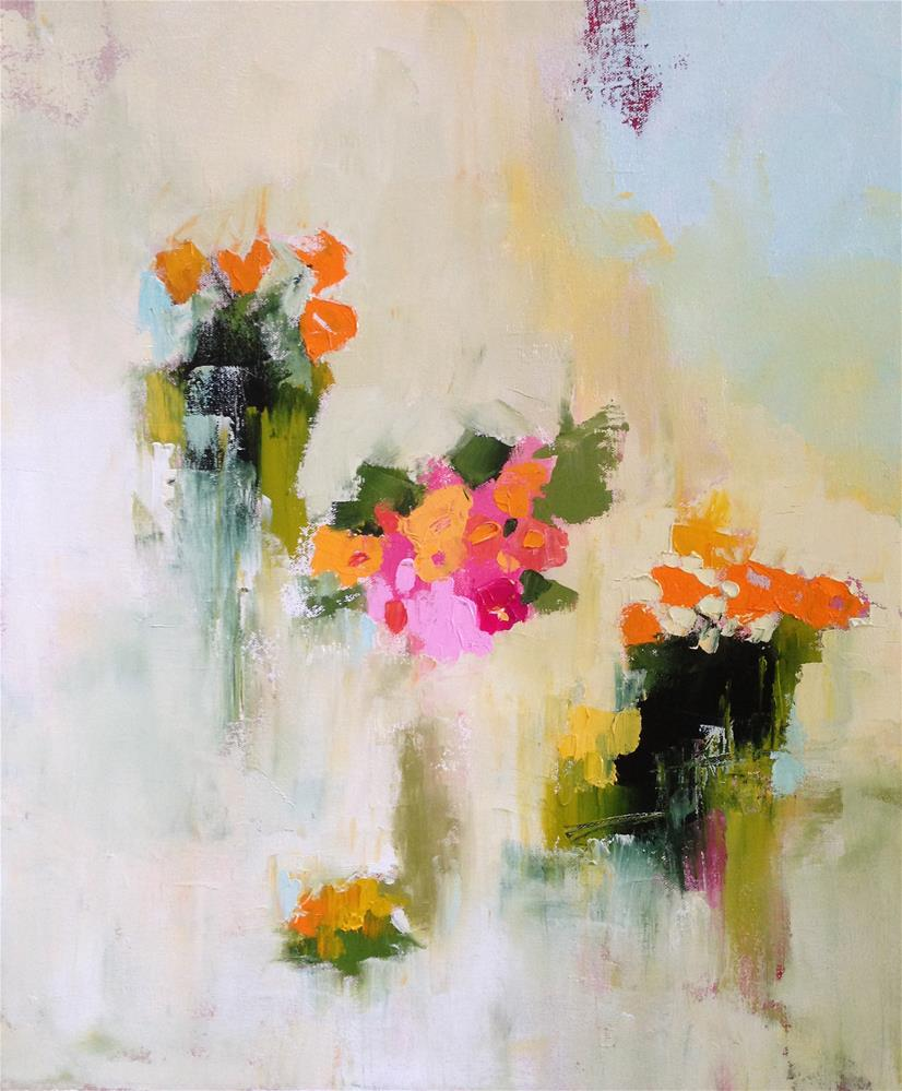"""Little Bouquets"" original fine art by Pamela Munger"