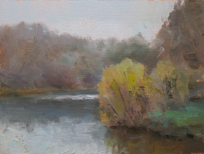 """Wild Bend"" original fine art by Randall Cogburn"