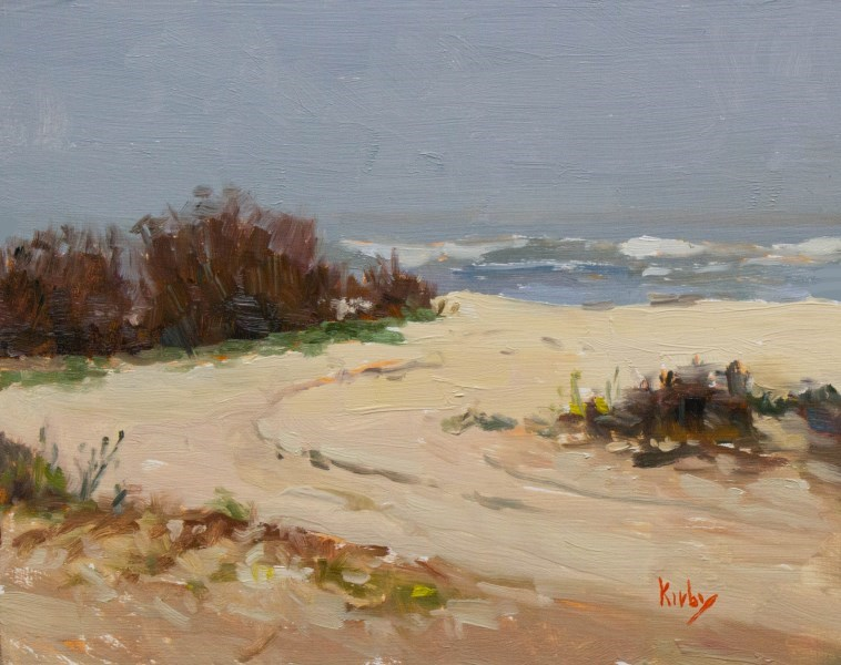"""Beach Access"" original fine art by Randall Cogburn"
