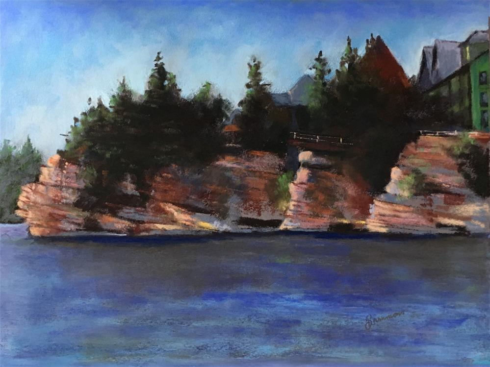 """Mohonk"" original fine art by Laurie Sammons"