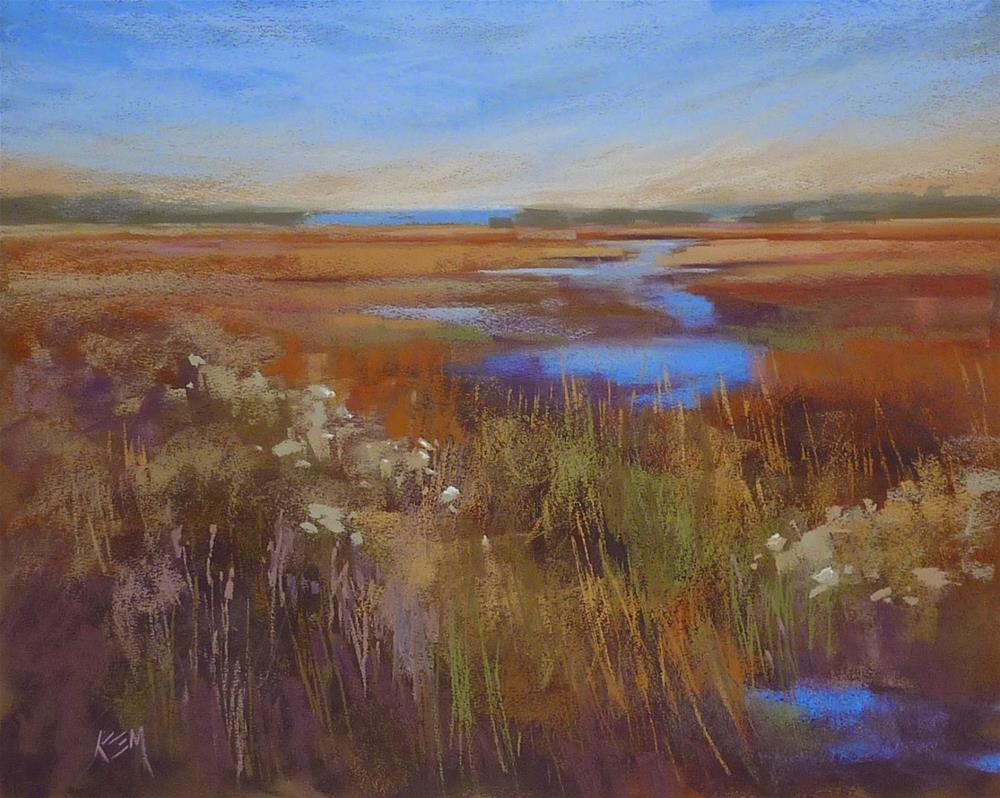 """""""A Must Have Pastel Set! Terry Ludwig Shades of Nature Review"""" original fine art by Karen Margulis"""