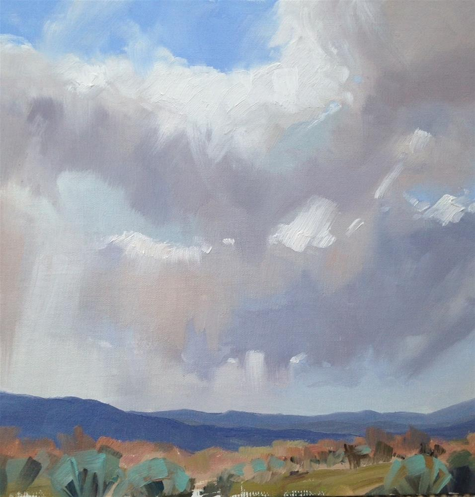 """Lazy Clouds"" original fine art by Mary Jabens"