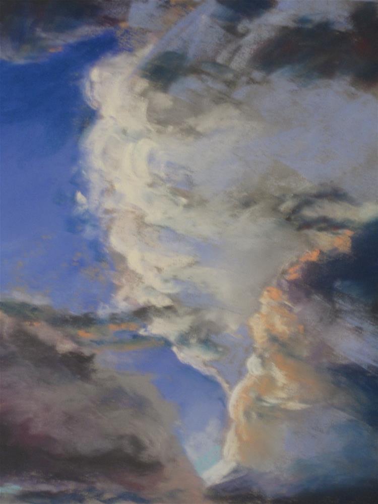 """""""Clouds #2"""" original fine art by Toby Reid"""