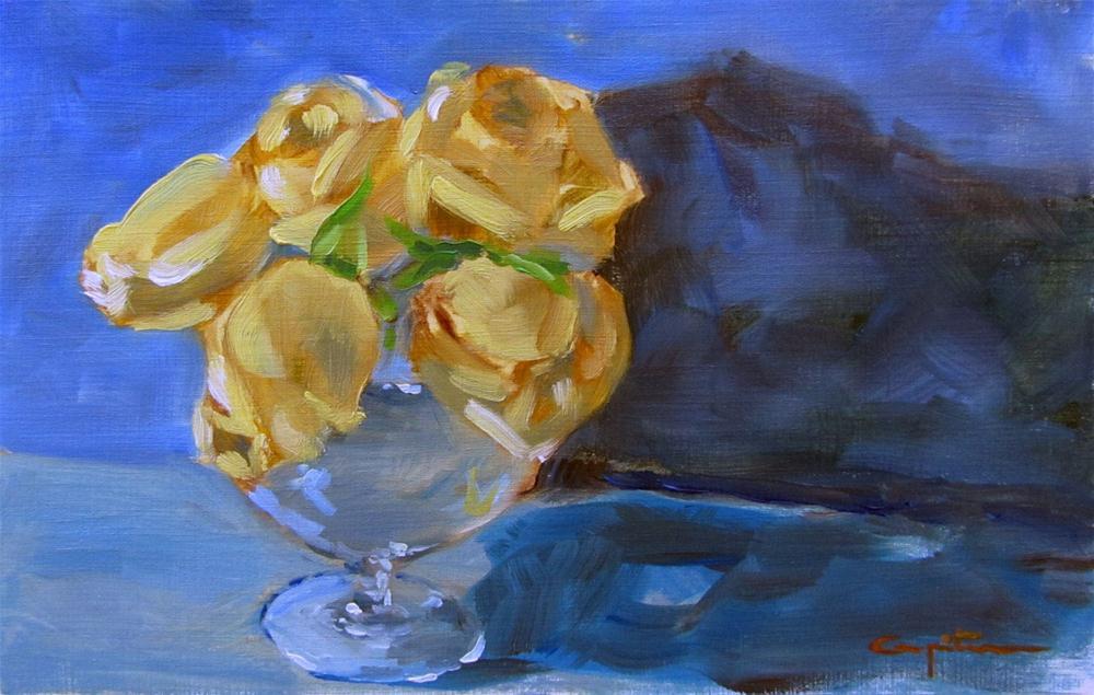 """""""Rosas de Murcia"""" original fine art by Eduardo Carpintero"""