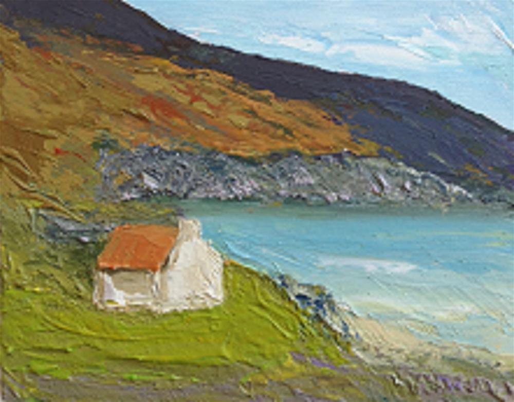 """On Achill Island"" original fine art by Marie O' Higgins"