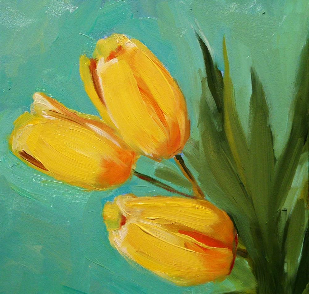 """#24 Good Day Sunshine"" original fine art by Patty Voje"