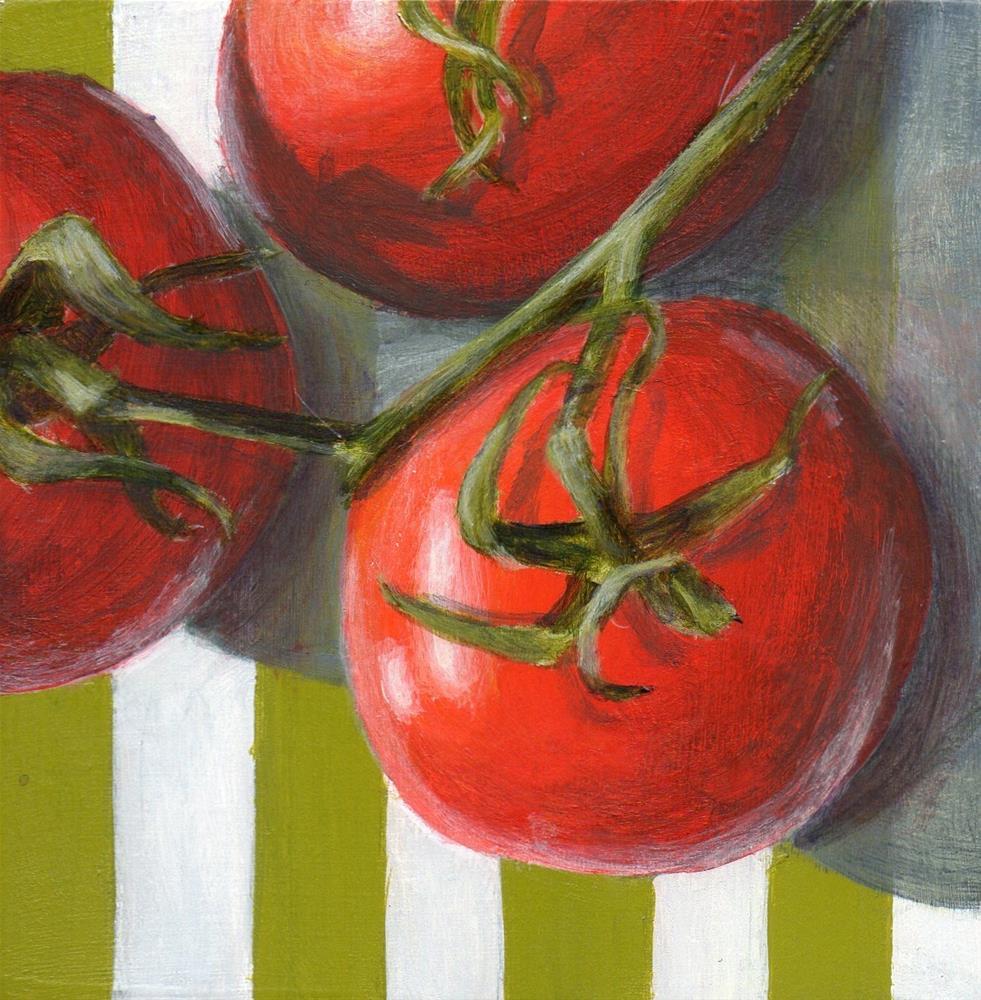 """""""Trio"""" original fine art by Debbie Shirley"""