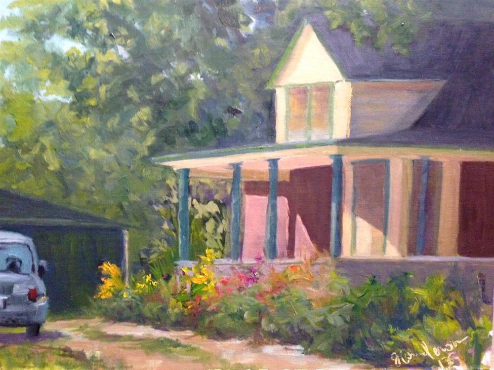 """""""1908"""" original fine art by Judith Anderson"""