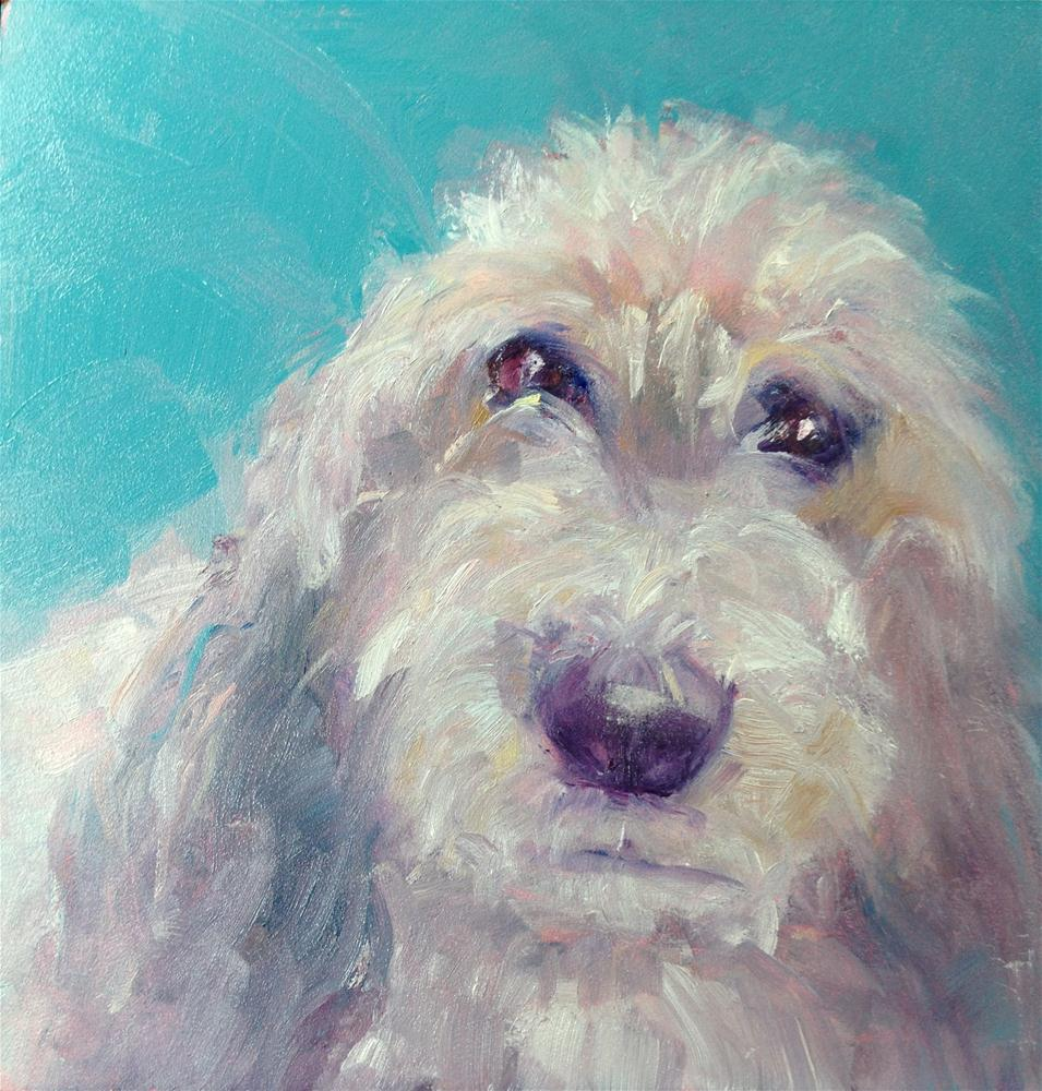 """Ziva"" original fine art by Carol Josefiak"