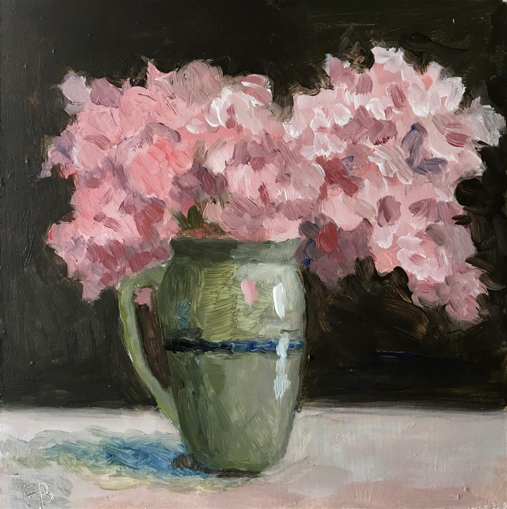 """250 Foral Flowers"" original fine art by Fred Bell"
