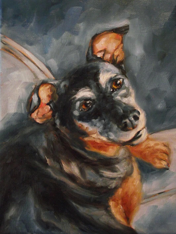 """""""Bella"""" original fine art by Angela Sullivan"""