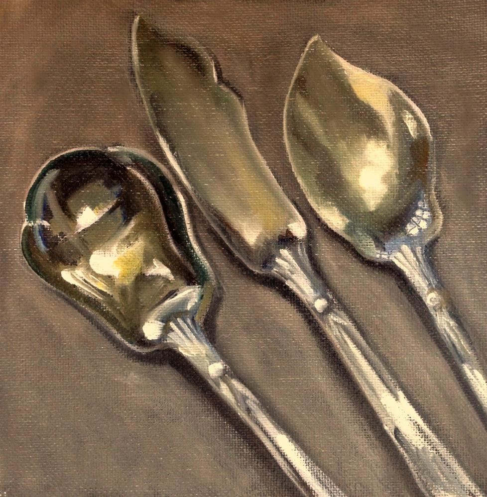 """Antique Silver"" original fine art by Beth Moreau"