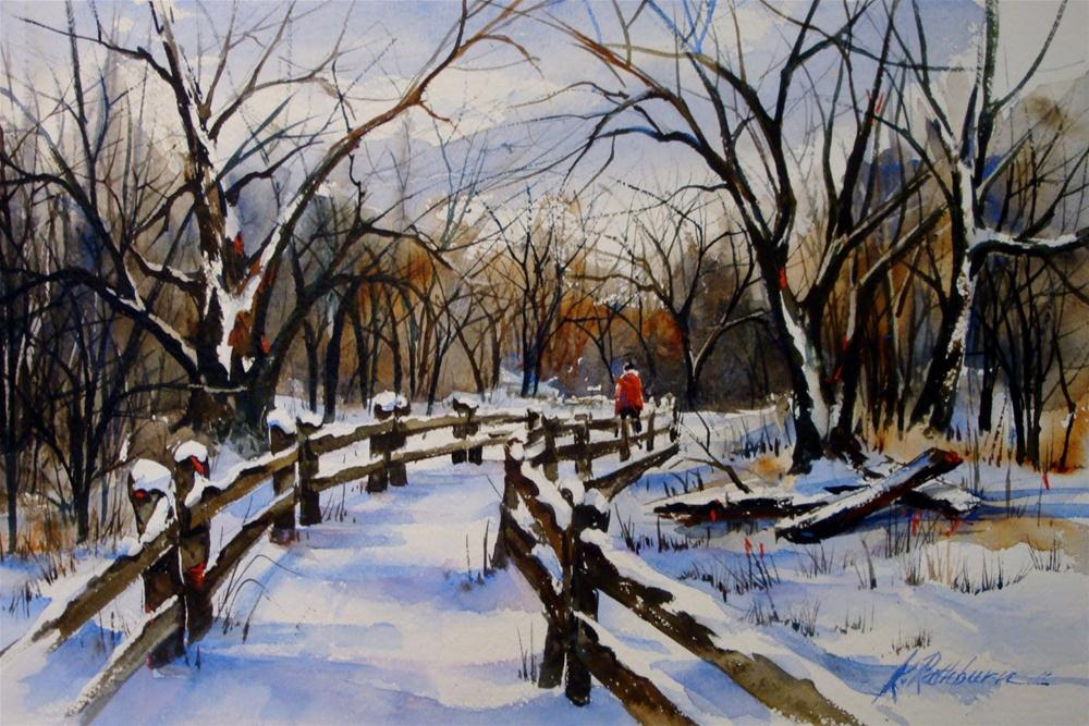 """Gibson Woods"" original fine art by Kathy Los-Rathburn"