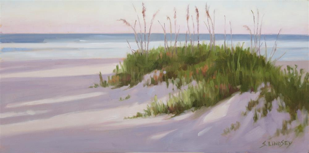 """Morning Shadows"" original fine art by Susan Lindsey"