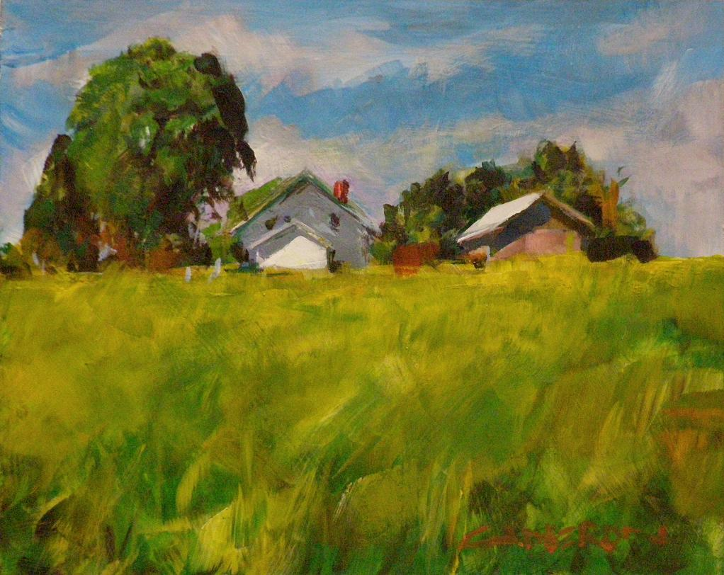"""FIRST DAY OF SUMMER"" original fine art by Brian Cameron"