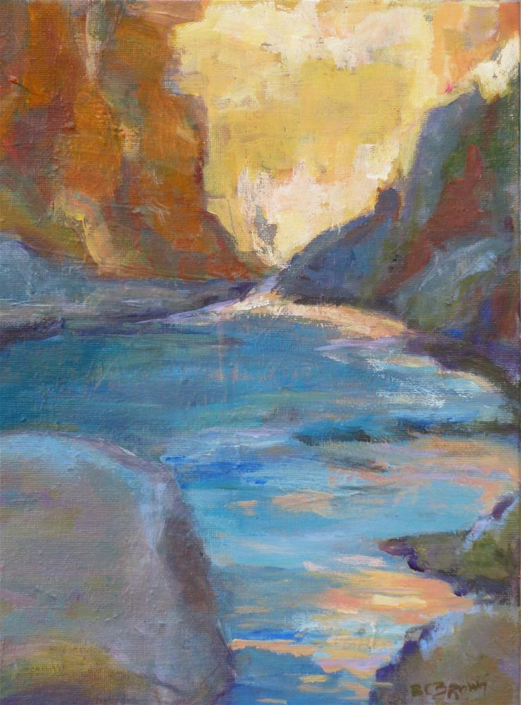 """Big Bend"" original fine art by Beth Carrington Brown"