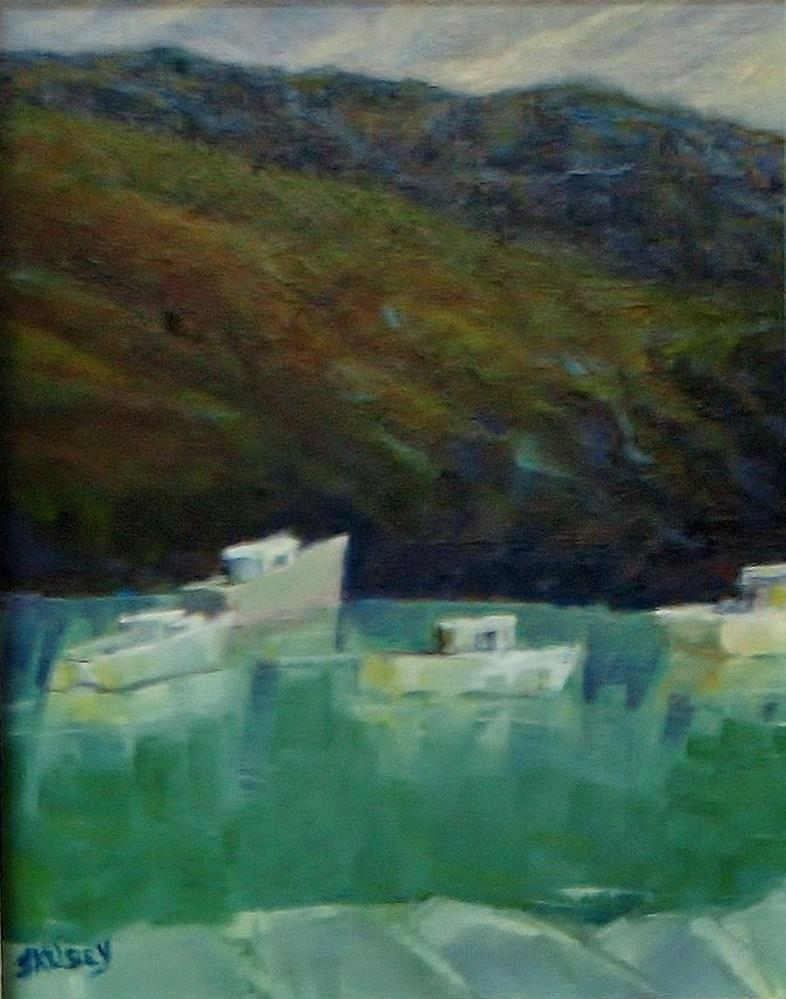 """Dark Harbor"" original fine art by J Kelsey"