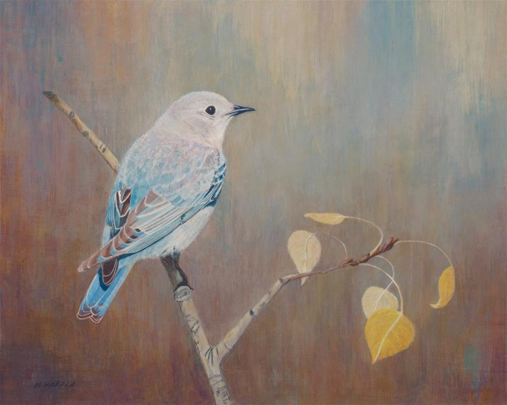 """""""Just Stopping by to Say Hello"""" original fine art by Nelia Harper"""