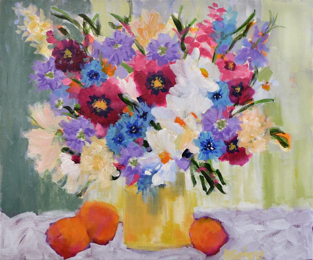 """Summer Still Life"" original fine art by Pamela Gatens"