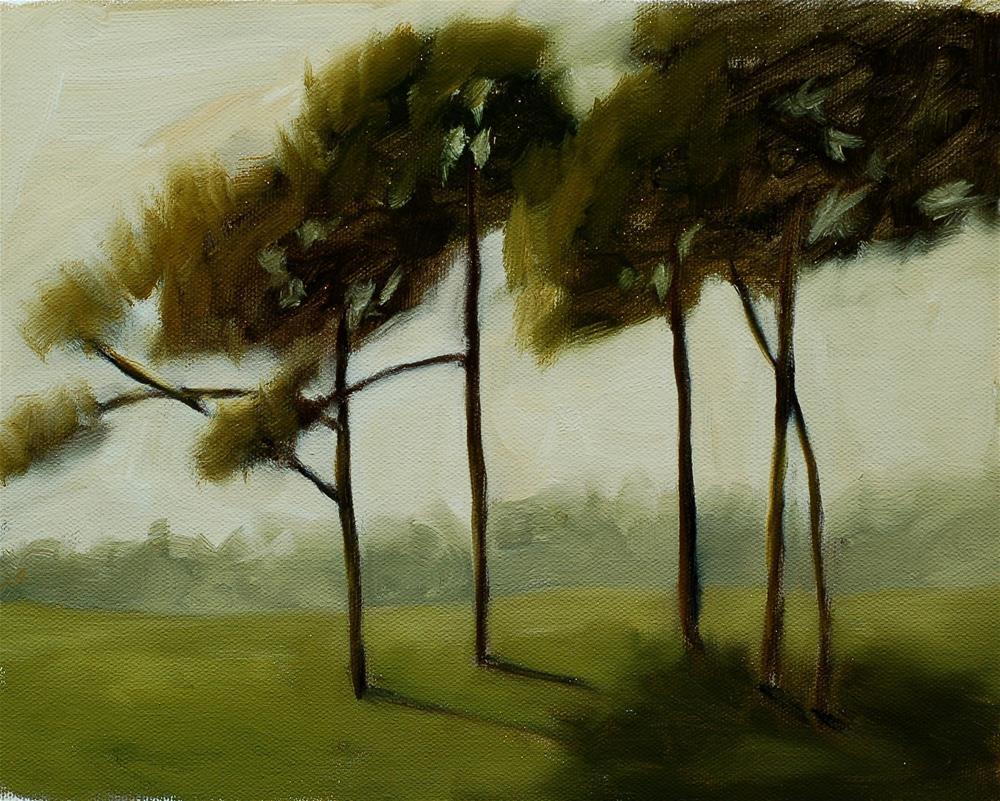 """Plein Air Pines"" original fine art by Bruce Housey"