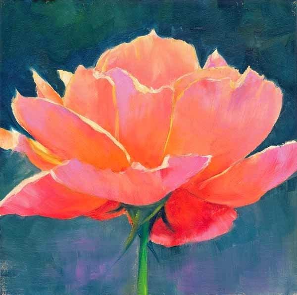 """Blossomed"" original fine art by Brenda Ferguson"