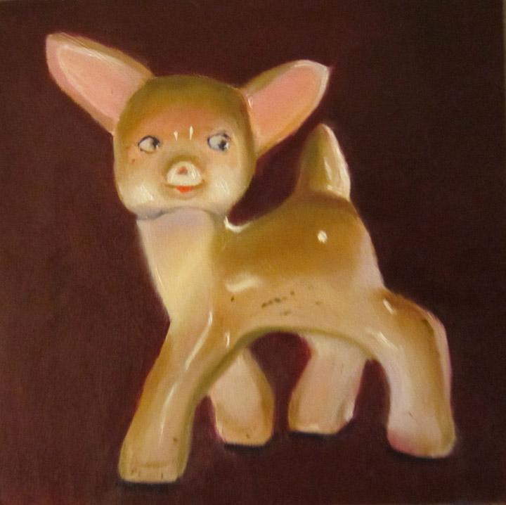 """Rudy"" original fine art by Linda McCoy"