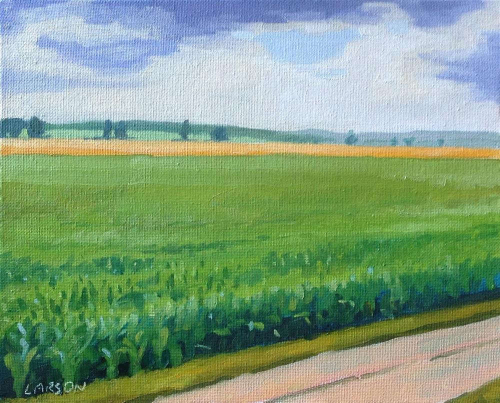 """Knee High by the 4th of July"" original fine art by Eric Larson"