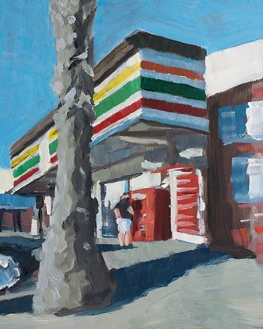 """Convenience"" original fine art by J. Farnsworth"