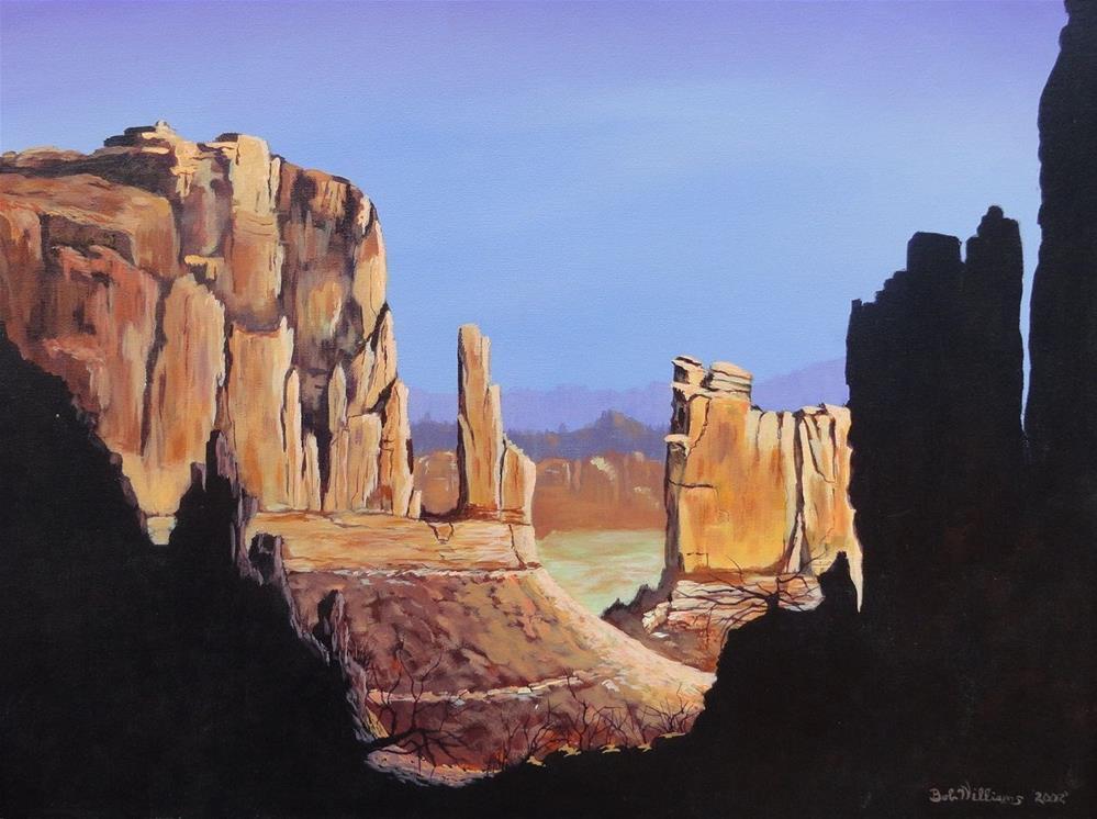 """The Mittins"" original fine art by Bob Williams"